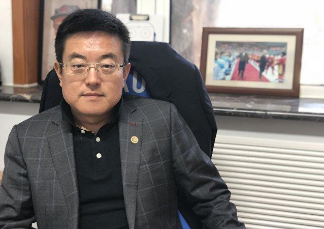 中國冰球協會常務副秘書長徐成響