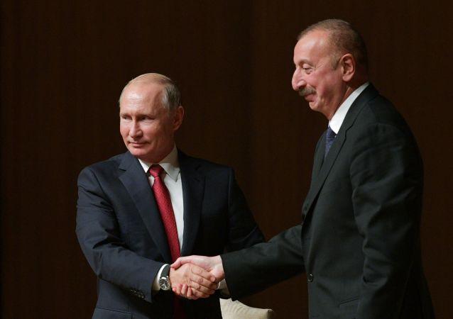 普京與阿利耶夫
