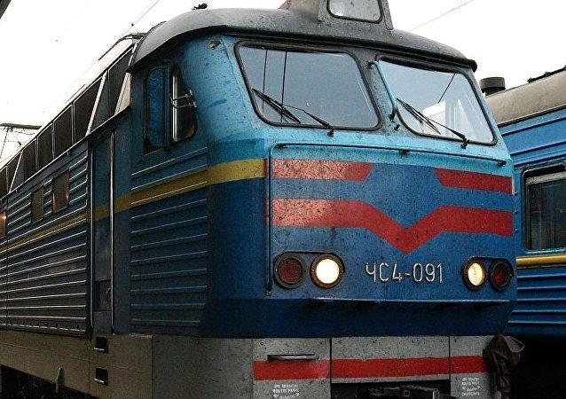 烏克蘭列車