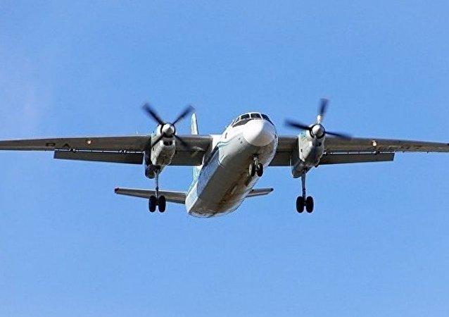 普京向迫降布里亞特的安-24機組人員頒獎