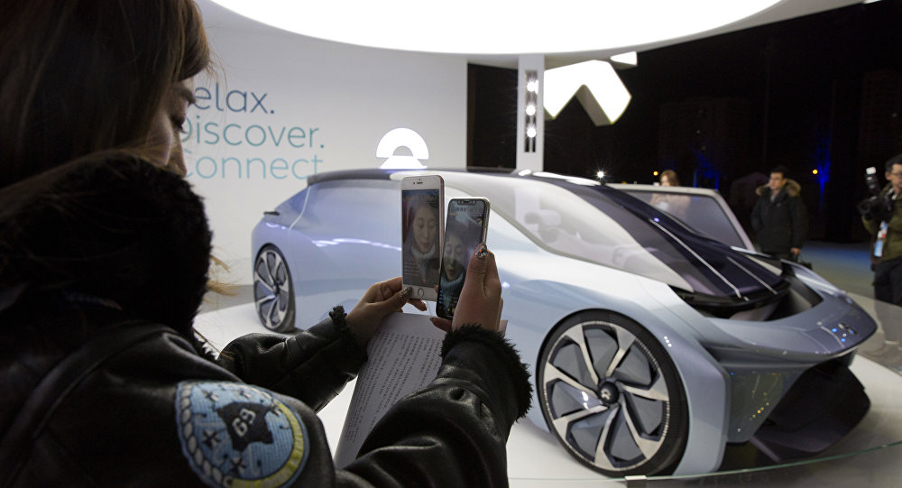 俄羅斯五分之一銷售中心專賣中國品牌汽車