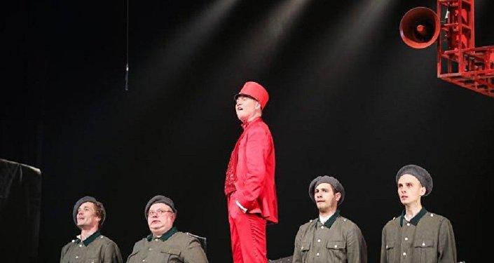 莫斯科契訶夫藝術劇院在中國上演話劇《19.14》