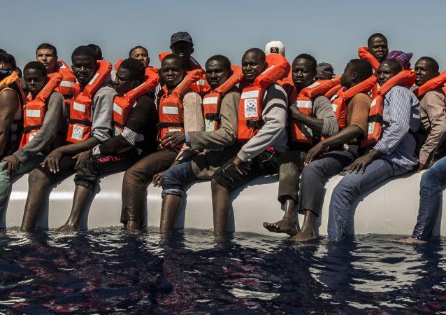 移民在地中海(資料圖片)