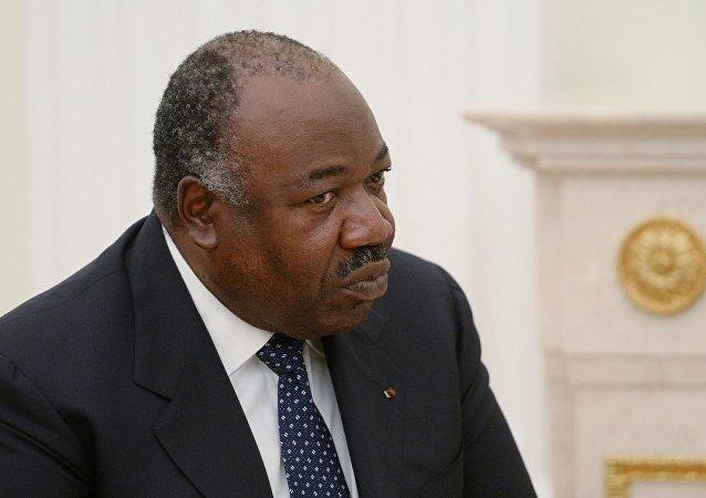 加蓬總統阿里·邦戈·翁丁巴
