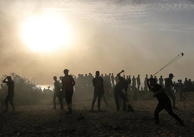 巴勒斯坦衛生部:加沙地帶邊境衝突致5名巴方人員死亡
