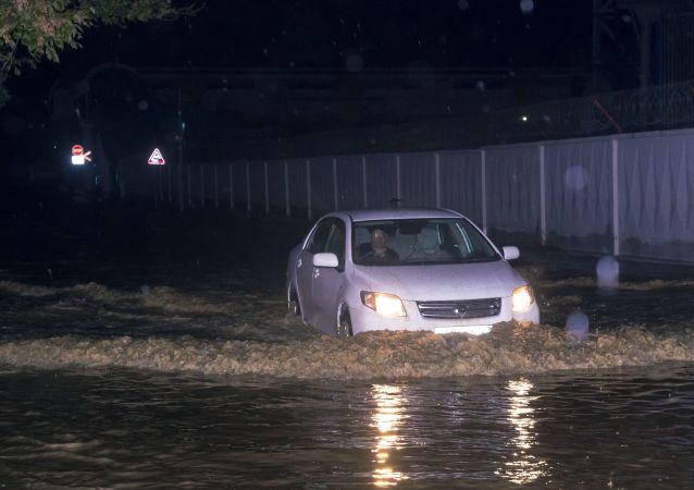 俄克拉斯諾達爾邊疆區洪水和滑坡造成60人受傷 兩人生死未卜