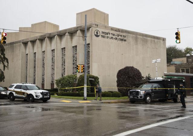 匹茲堡市一座猶太教堂