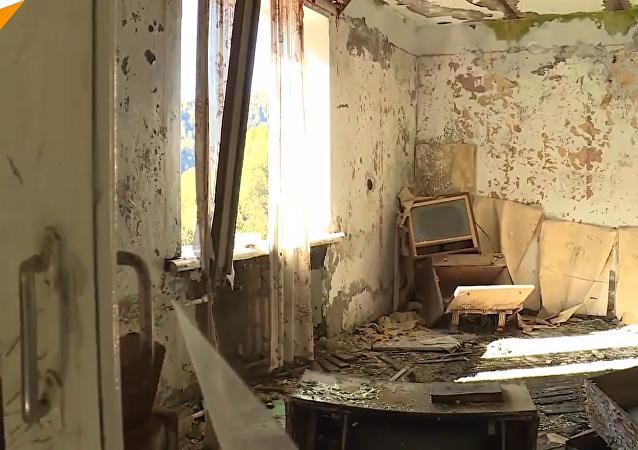 被遺棄的阿布哈茲「鬼城」