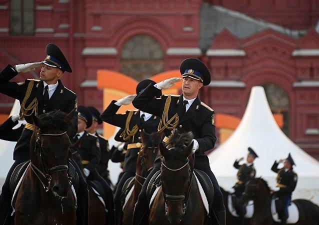 俄羅斯總統警衛團騎兵儀仗隊