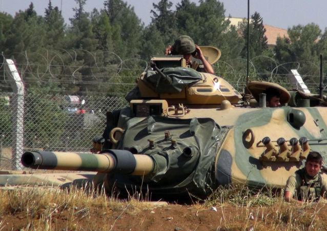 土耳其總統宣佈土耳其將在敘利亞幼發拉底河以東執行行動