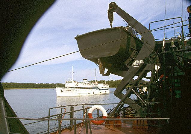 列寧格勒州波羅的海海邊港口