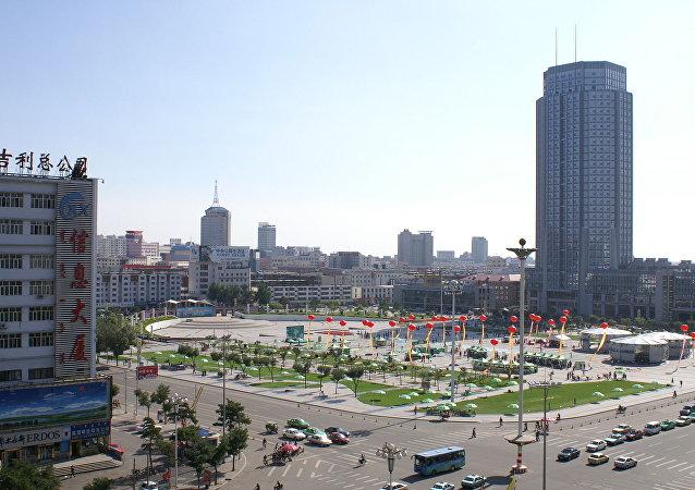 Город Хух-хото. Монголия (КНР)
