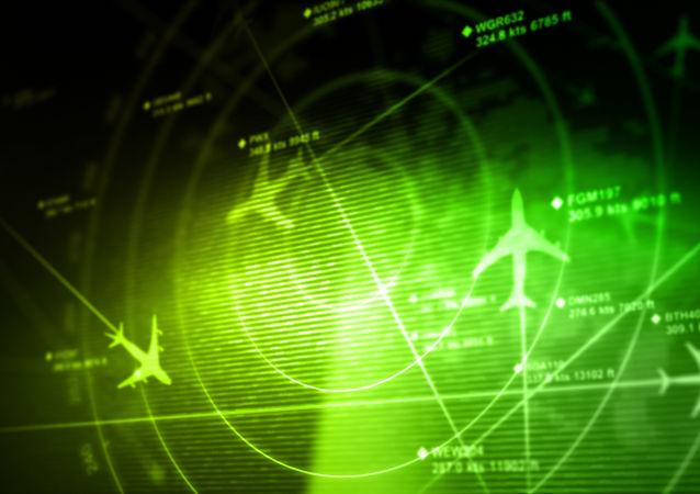 Самолеты на экране радара