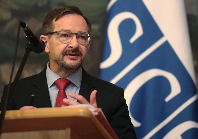 歐洲安全與合作組織秘書長托馬斯·格雷明格