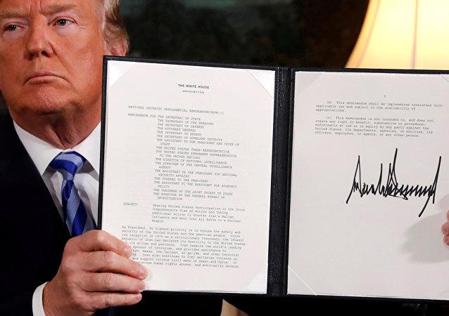 美國退出伊核協議
