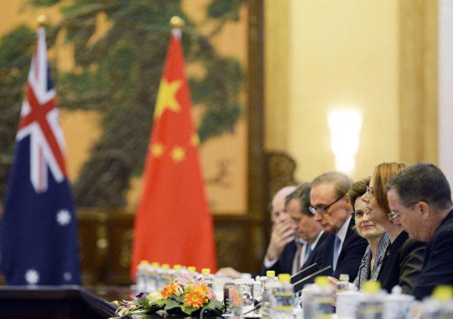 Дипломатические переговоры между Австралией и Китаем
