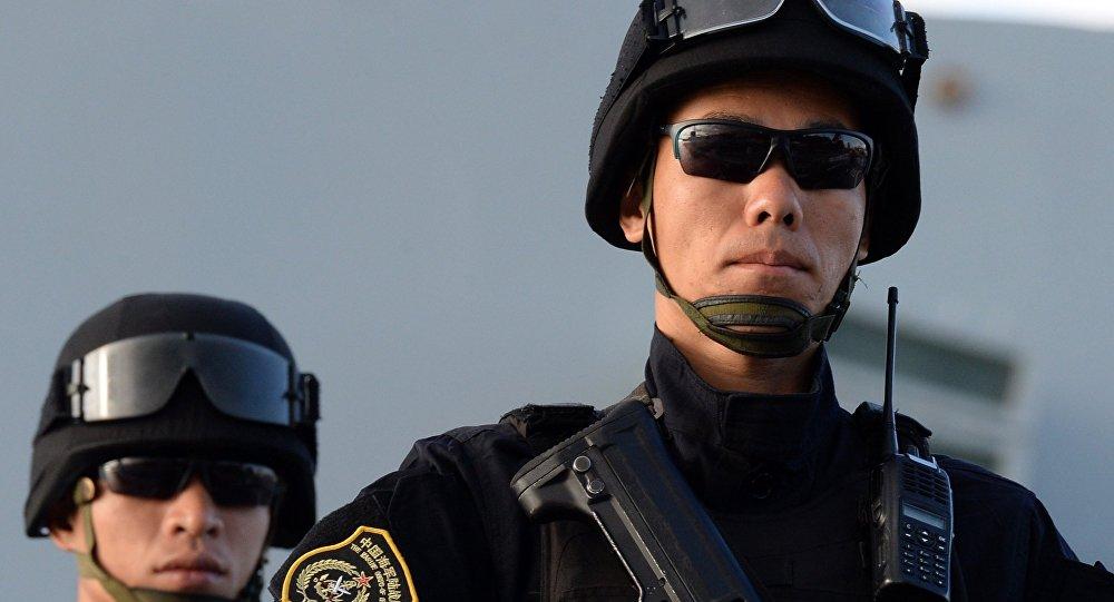中美兩軍舉行人道主義救援減災聯合演練