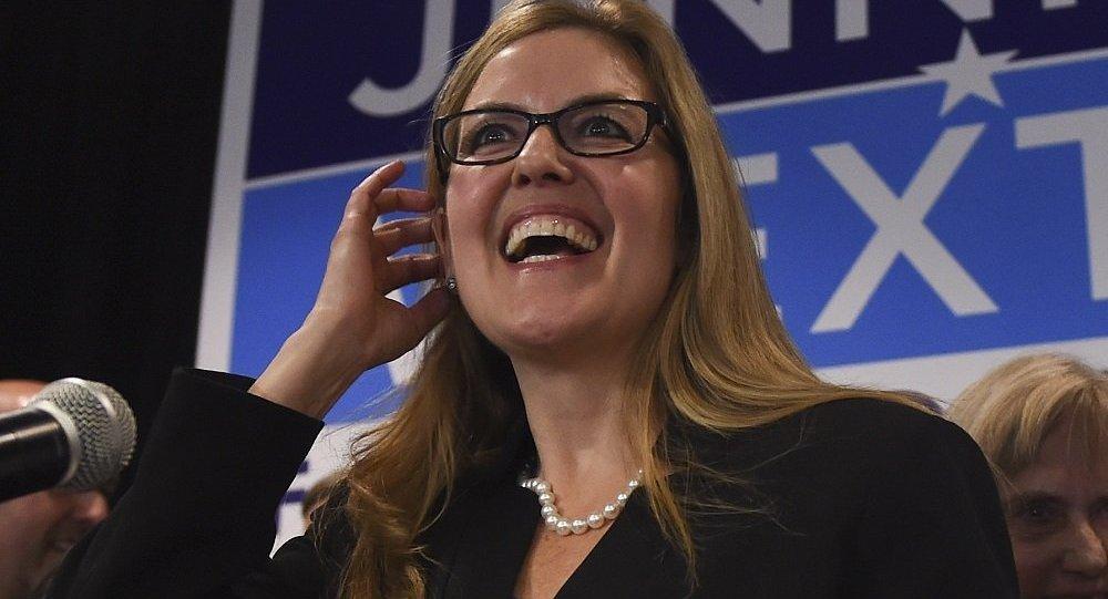 美國眾議院女性議員詹妮弗·韋克斯頓(Jennifer Wexton)