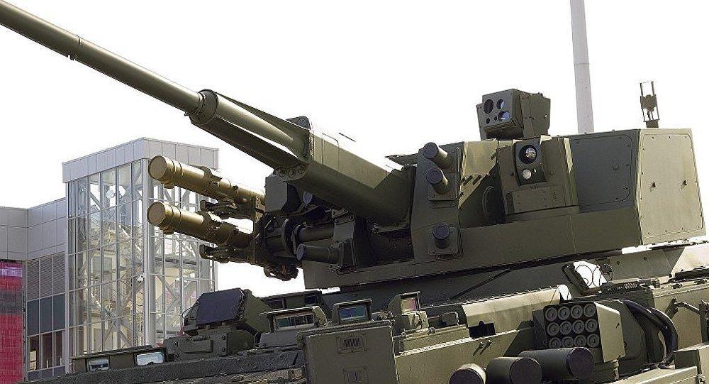 AU-220M「貝加爾湖」自動遙控火炮模塊