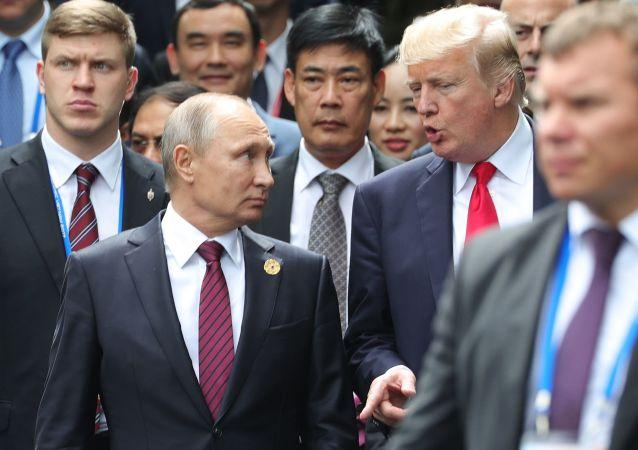 普京:願意在G20峰會期間與美國總統特朗普會面