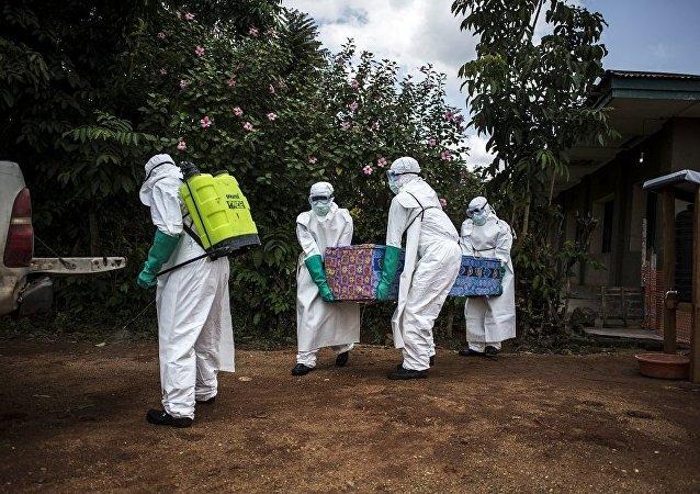 剛果(金),埃博拉疫情
