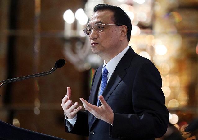 Премьер-министр Китая Ли Кэцян на 44-й Сингапурской лекции на саммите АСЕАН