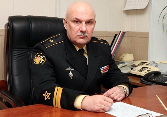 俄太平洋艦隊司令在符拉迪沃斯托克會見韓國海軍軍官