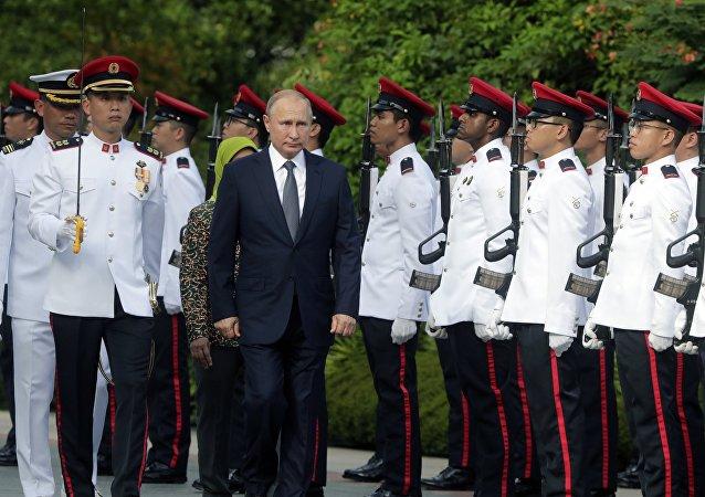 克宮:普京在新加坡的日程安排略有調整