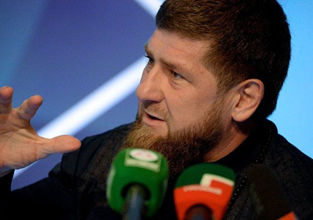 車臣領導人拉姆贊·卡德羅夫