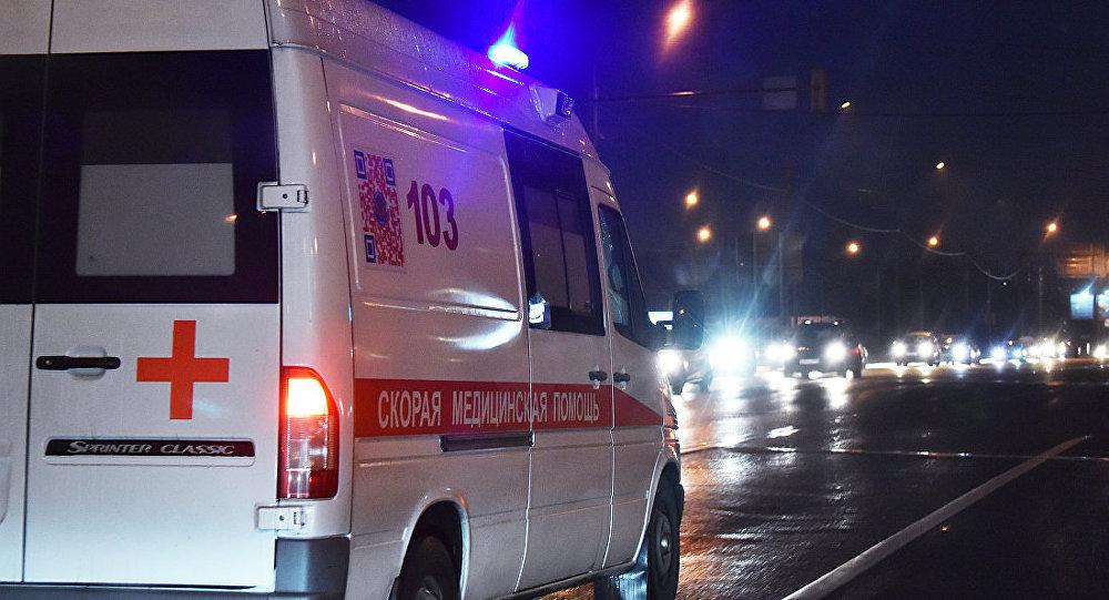 莫斯科救護車(資料圖片)
