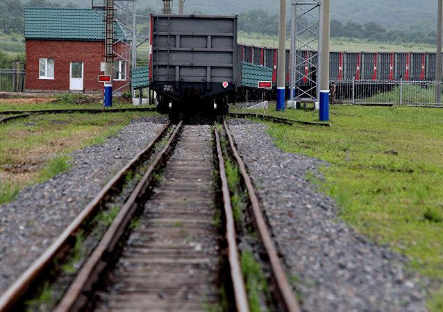 2020年經由黑龍江省最大對俄鐵路口岸站出入境中歐班列突破200列