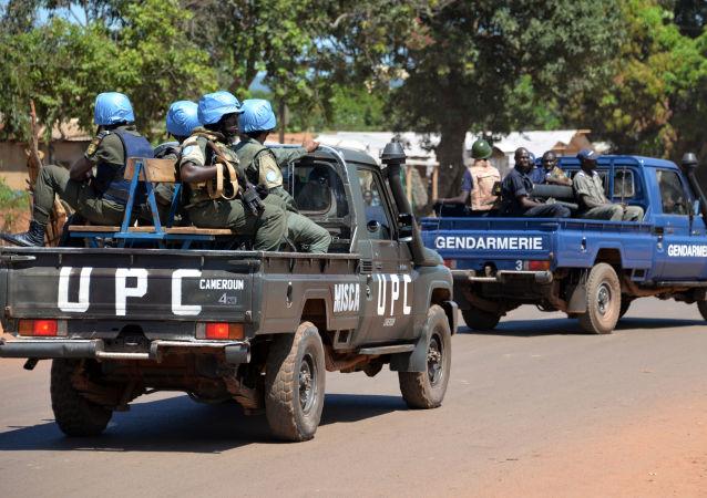 維和人員在中非共和國