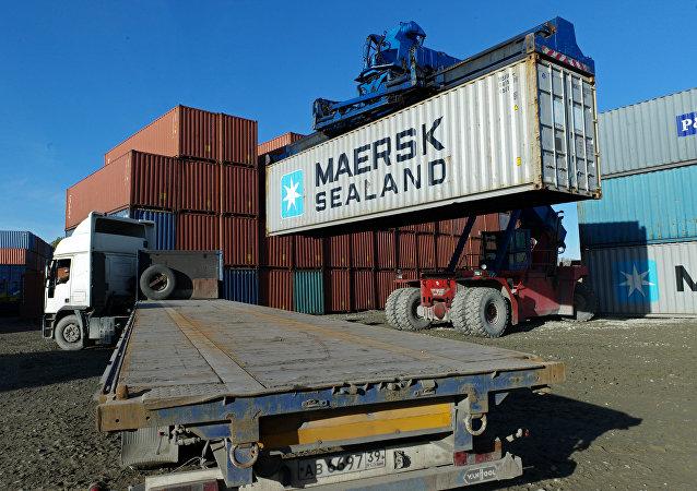三月中國至俄集裝箱運費較年初峰值下降30%