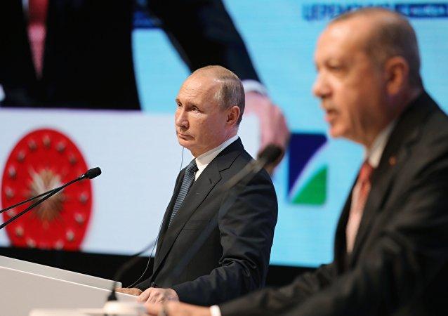 普京:俄羅斯是可靠的天然氣供應國