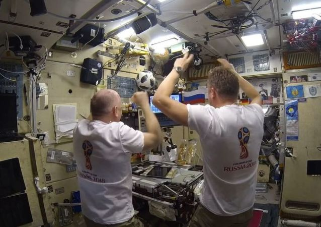 國際空間站的俄宇航員