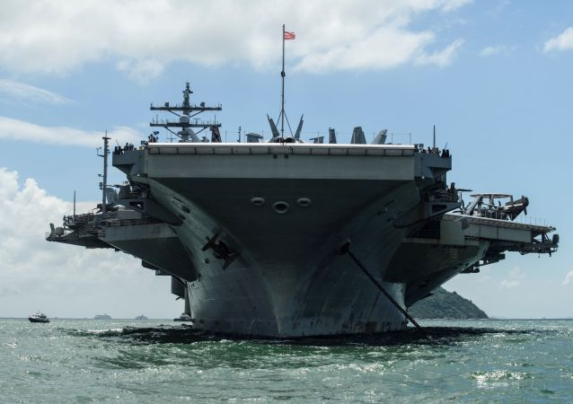 美國「羅納德·里根」號航母