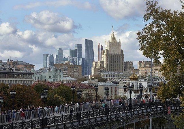 俄外交部(資料圖片)