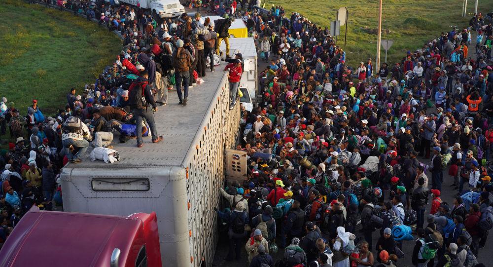 墨西哥總統:墨西哥將向尋求赴美國的移民提供人道主義援助