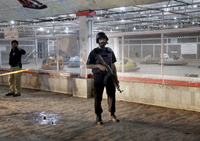 巴基斯坦一警察局附近發生爆炸 25人受傷