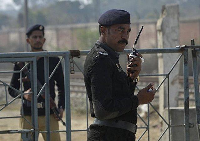 巴基斯坦警方在卡拉奇逮捕參與襲擊證券交易所的恐怖分子