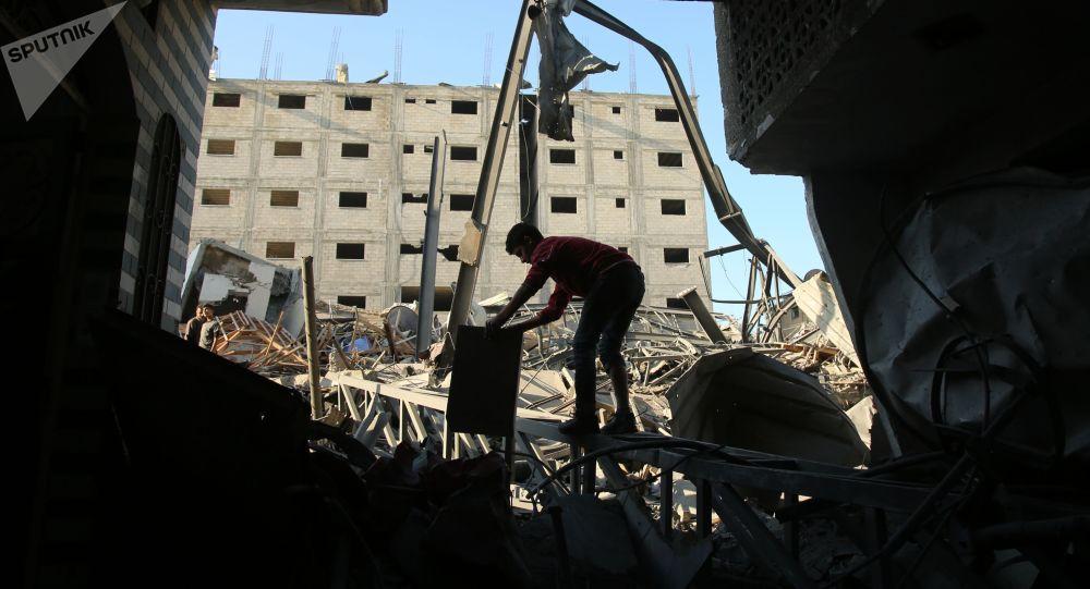 超百名巴勒斯坦人在加沙地帶邊境區同以軍的衝突中受傷