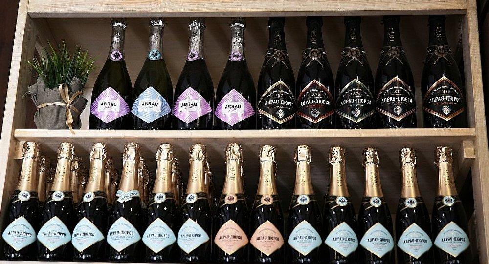Abrau-Durso公司生產的香檳酒
