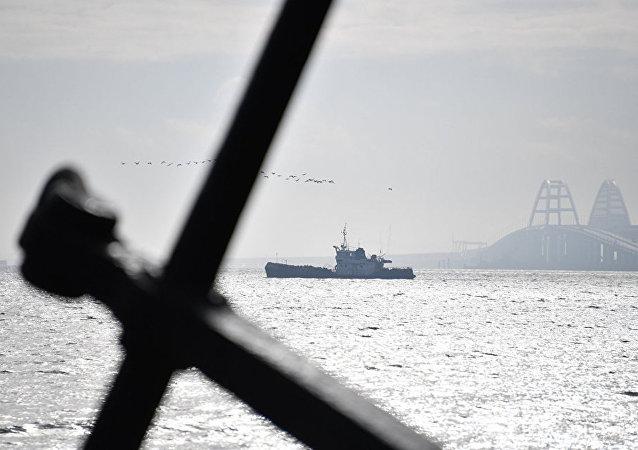 克宮否認基輔有關科赤海峽船舶限行的說法