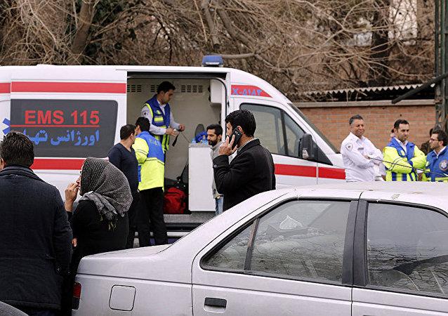 伊朗急救車