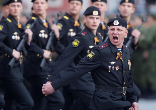 俄跨軍種大型演習在克里米亞開始