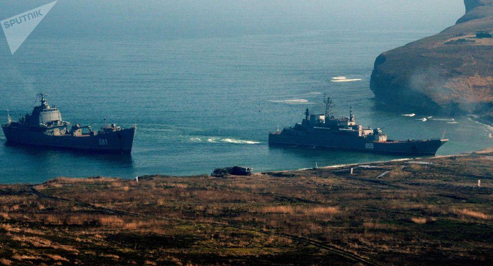 俄太平洋艦隊海軍陸戰旅今年最大規模演習在勘察加半島結束