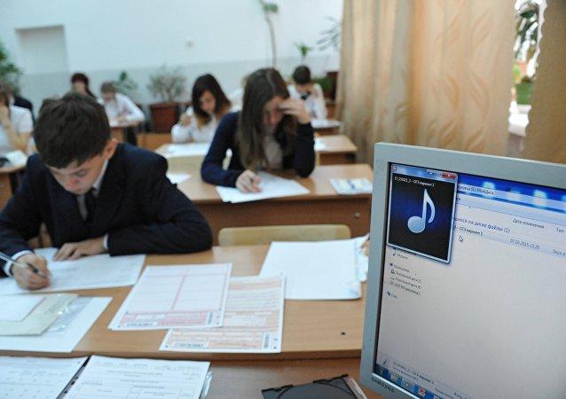 俄西伯利亞和遠東地區舉辦首次國家統一考試漢語科目考試