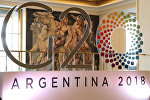 Логотип саммита G20 в Аргентине.