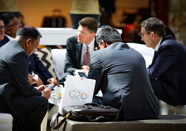 中國商務部:中方希望與G20成員就國際貿易議題進行建設性對話