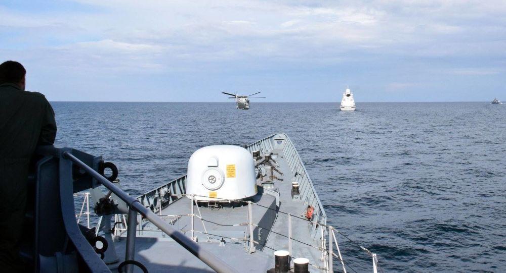 烏克蘭和美國海軍在黑海進行聯合訓練
